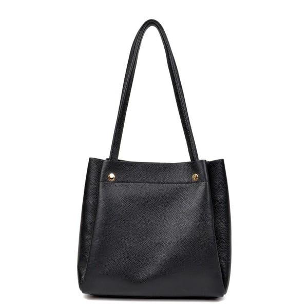 Černá kožená kabelka Isabella Rhea Monica