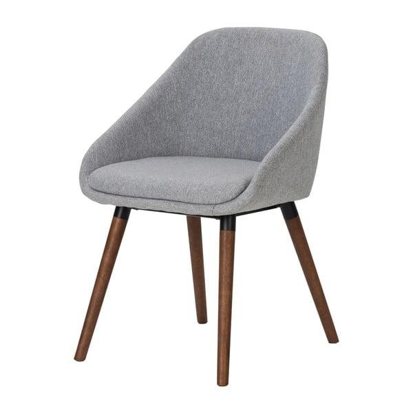 Sivá jedálenská stolička Interstil Nils