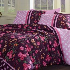 Povlečení Jardin De Rose Pink, 200x220 cm