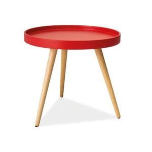 Konferenční stolek Toni 50 cm, červený