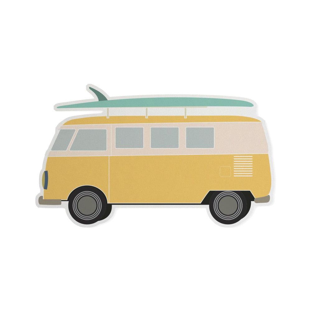 Dětšká předložka Little Nice Things Van, 80 x 50 cm