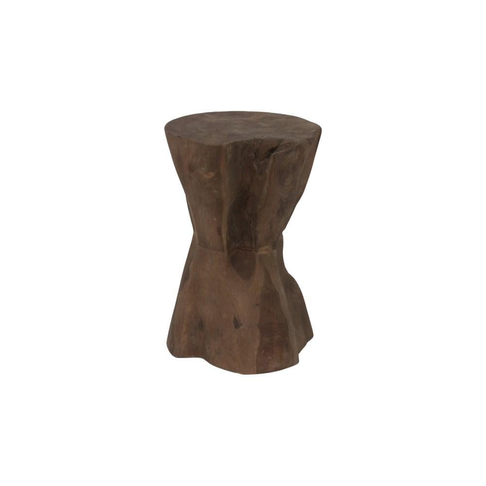 Stolička z teakového dřeva HSM Collection Diabolo