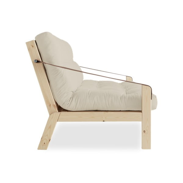 Canapea extensibilă Karup Design Poetry Natural/Beige