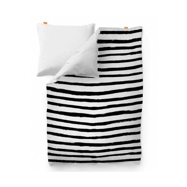 Bavlněný povlak na peřinu Blanc Stripes, 220x220cm