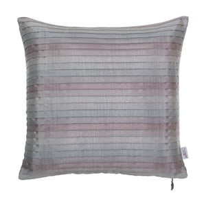 Plisovaný povlak na polštář Apolena, narůžovělý