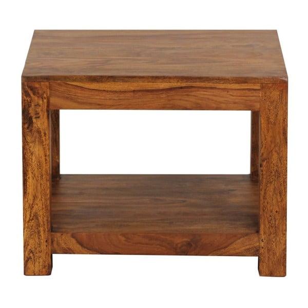 Konferenční stolek z masivního palisandrového dřeva Skyport Antonella