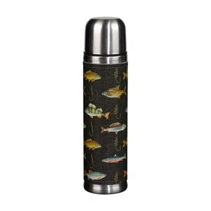 Termoska Hook Line and Sinker Black Fish, 500 ml