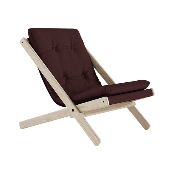 Scaun pliabil Karup Design Boogie Raw/Brown