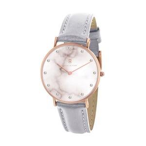 Šedé dámské hodinky Black Oak Marble