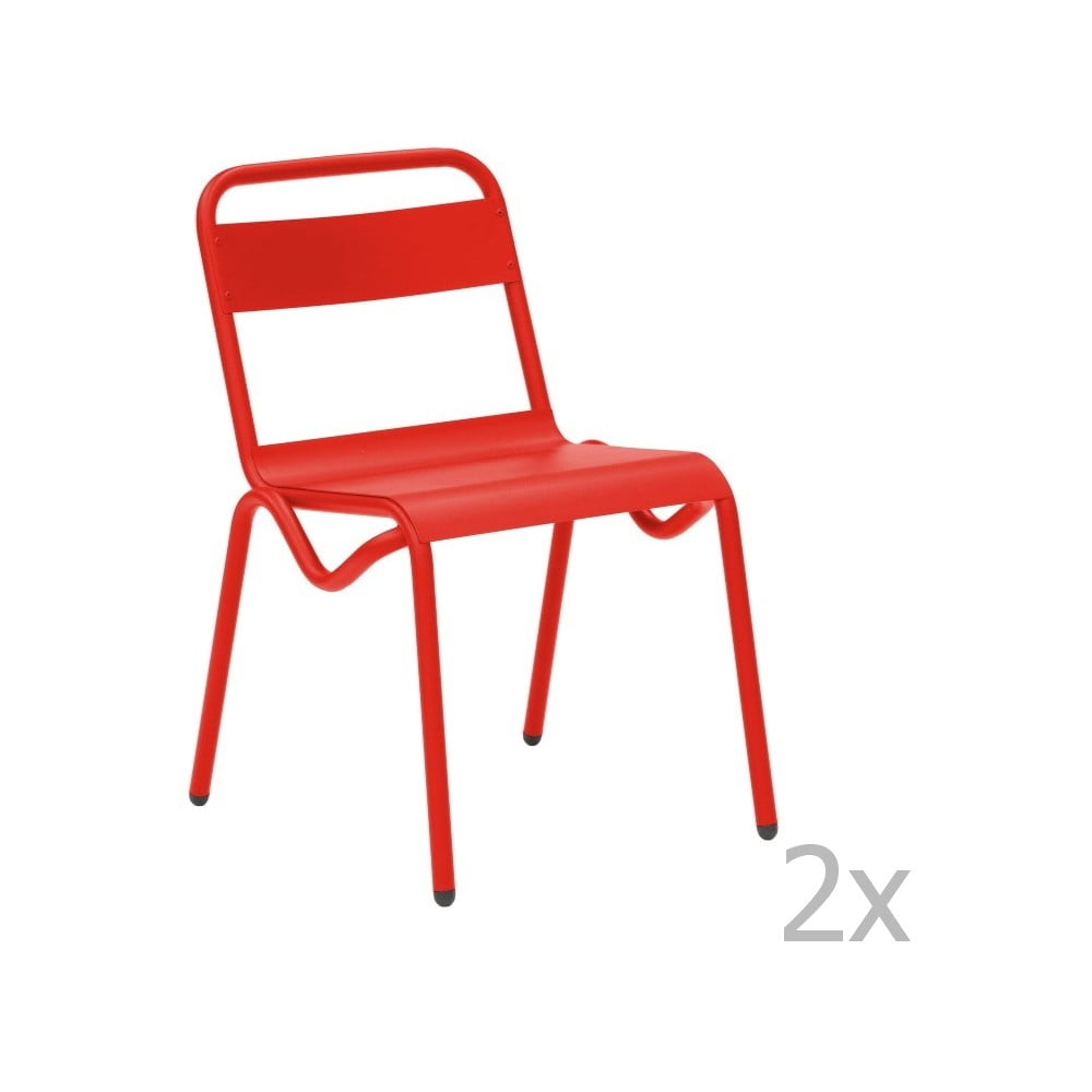 Set 2 scaune de gr din isimar anglet ro u bonami for Mobilier anglet