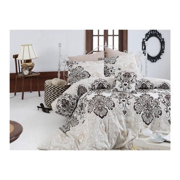 Set lenjerie de pat din bumbac pentru pat dublu Ranforce Luxy, 200 x 220 cm
