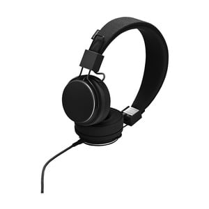 Černá sluchátka s mikrofonem Urbanears PLATTAN II Black