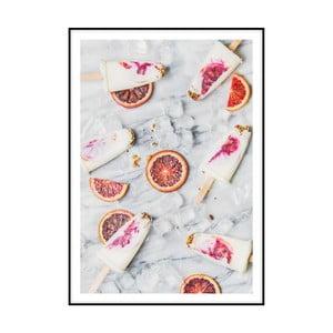 Plakát Imagioo Popsicles, 40x30cm