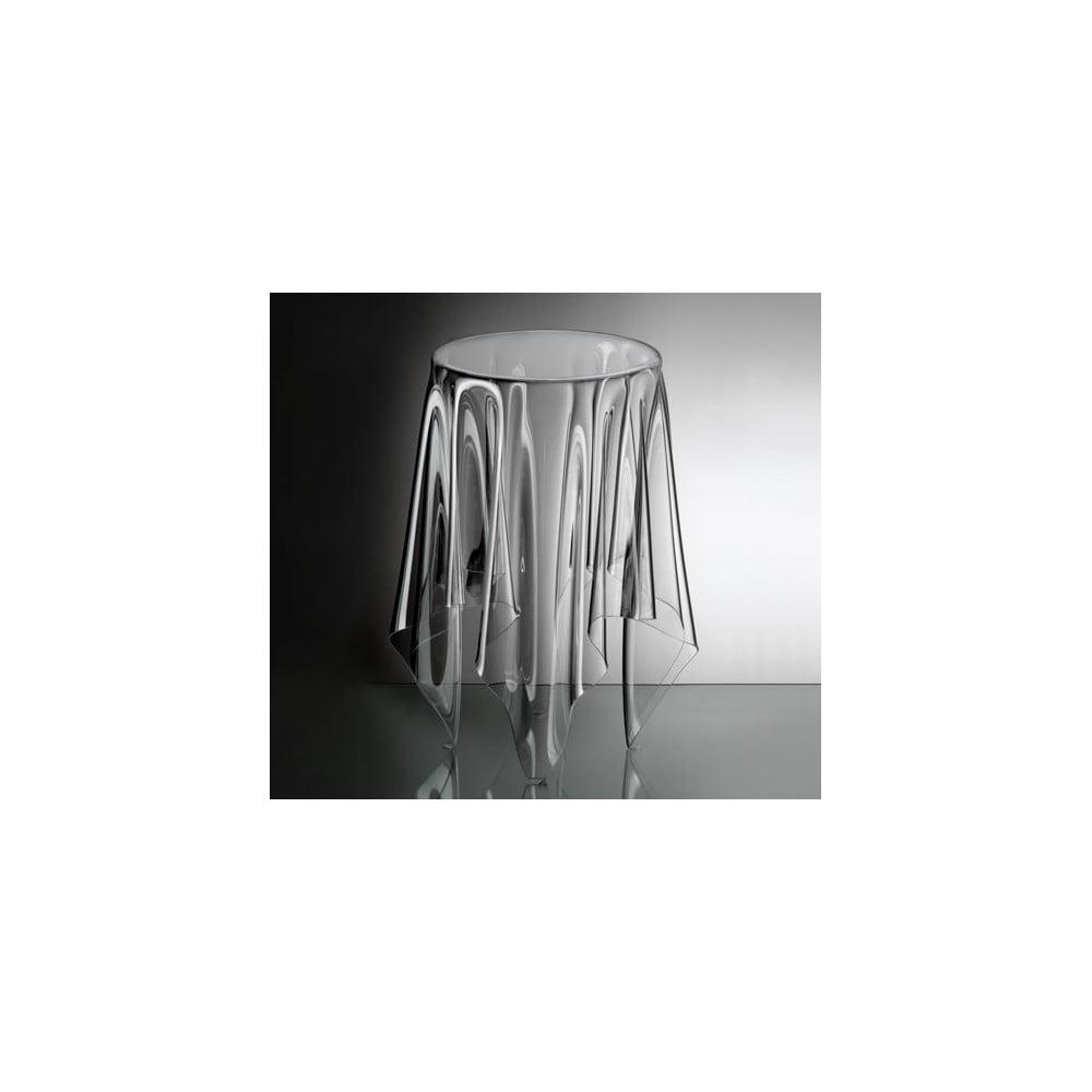 odkl dac stolek essey tall illusion clear bonami. Black Bedroom Furniture Sets. Home Design Ideas