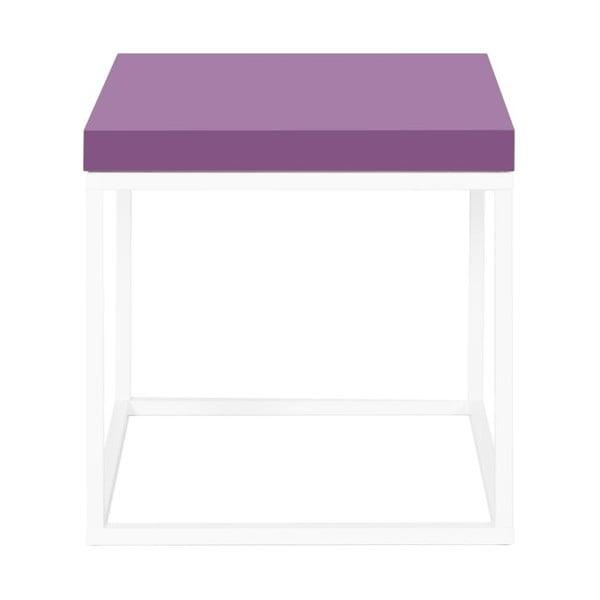 Odkládací stolek Prairie, fialový