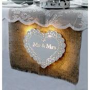 Svatební dekorace s LED světly Endless Love