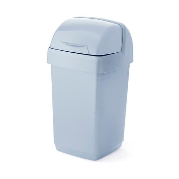 Coș de gunoi din plastic reciclat Addis Eco Range, 10 l, gri
