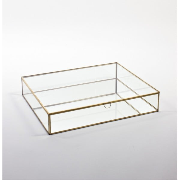 Skleněná vitrína ComingB Miroir, 55x45 cm