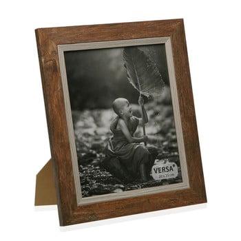 Ramă foto din lemn pentru fotografie Versa Madera Marron, 20x25cm imagine
