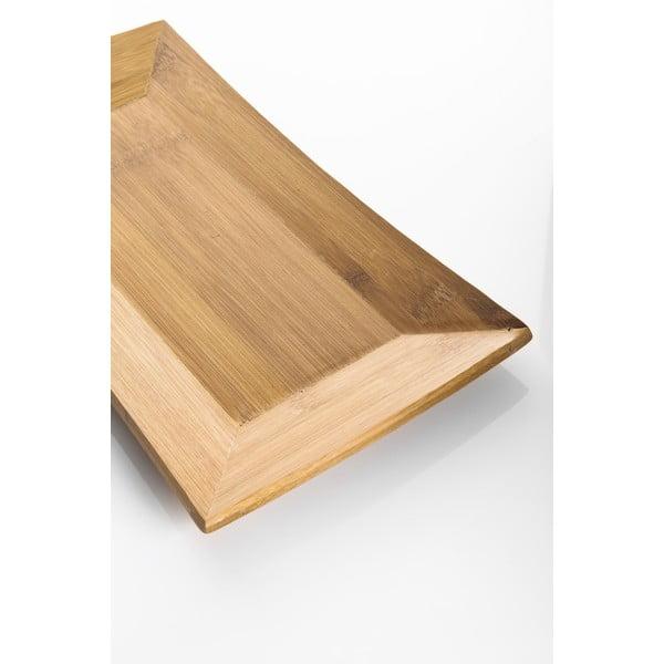 Bambusový podnos Americano, 35 cm