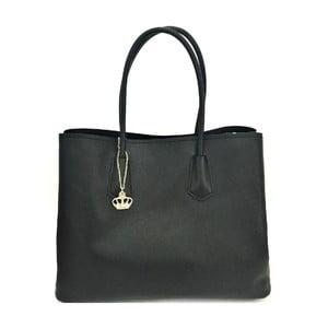 Kožená kabelka Gaia Black