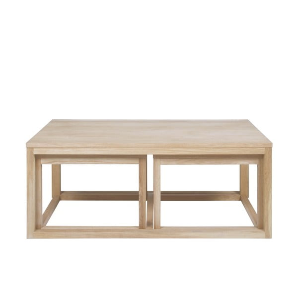Konferenční stolek s podnožím z dubového dřeva Actona Cornus