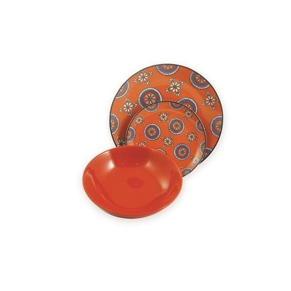 Talíř Bali oranžový, 19 cm