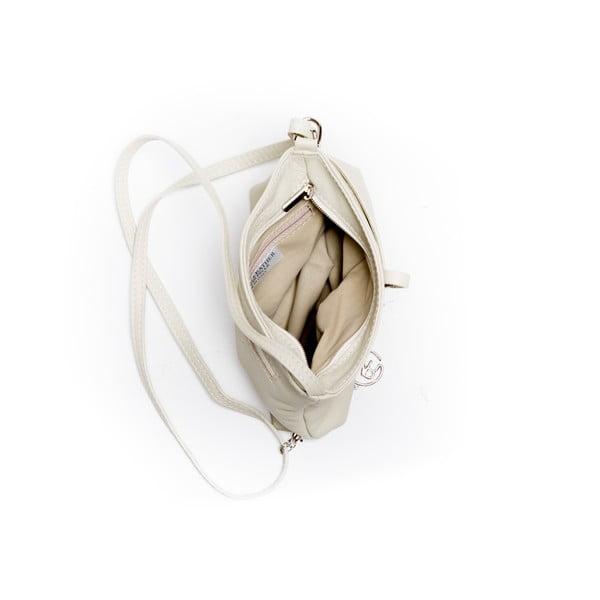 Kožená kabelka Roberta M. 241 Beige