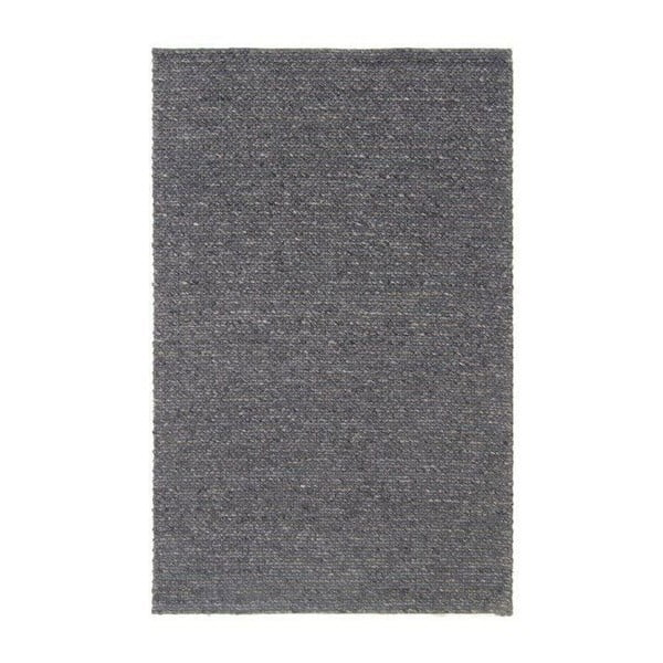 Vlněný koberec Tikos Grey, 140x200 cm