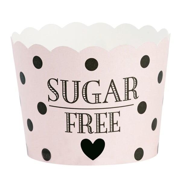 Sada 24 pečicích košíčků Miss Étoile Sugar Free