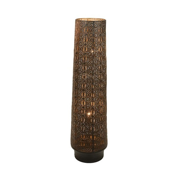 Železná stojací lampa Santiago Pons Ornaments, výška 118cm
