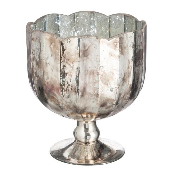 Skleněná váza Conical, výška 23 cm