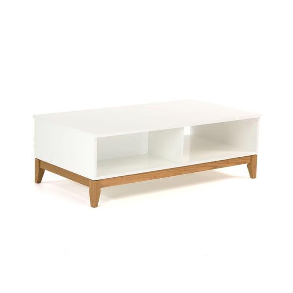 Bílý konferenční stolek Woodman Blanco