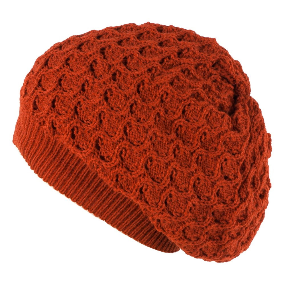Oranžová dámská čepice Art of Polo Gosia
