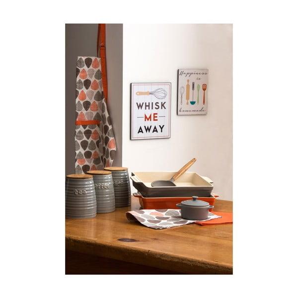 Dřevěný obraz Whisk Me Away, 25x30 cm