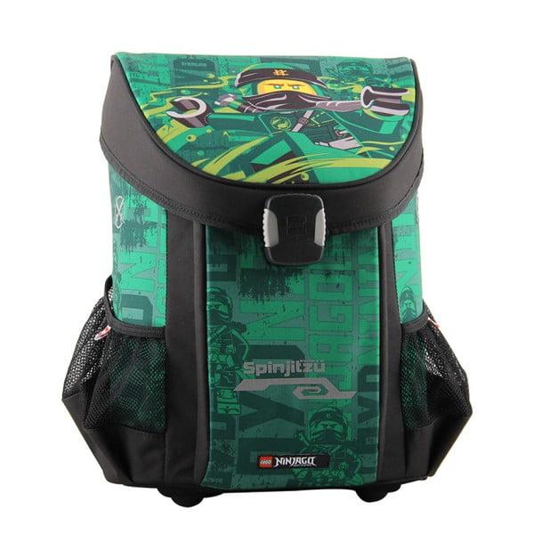 Zielono-czarny tornister LEGO® Ninjago Energy Easy