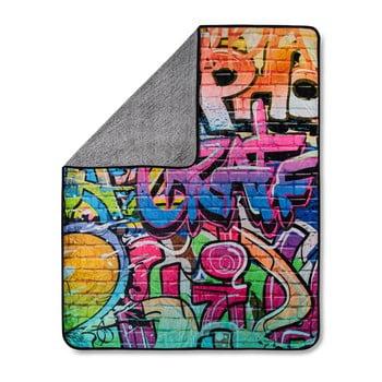 Pătură HIP Graffity Multi, 130 x 160 cm imagine
