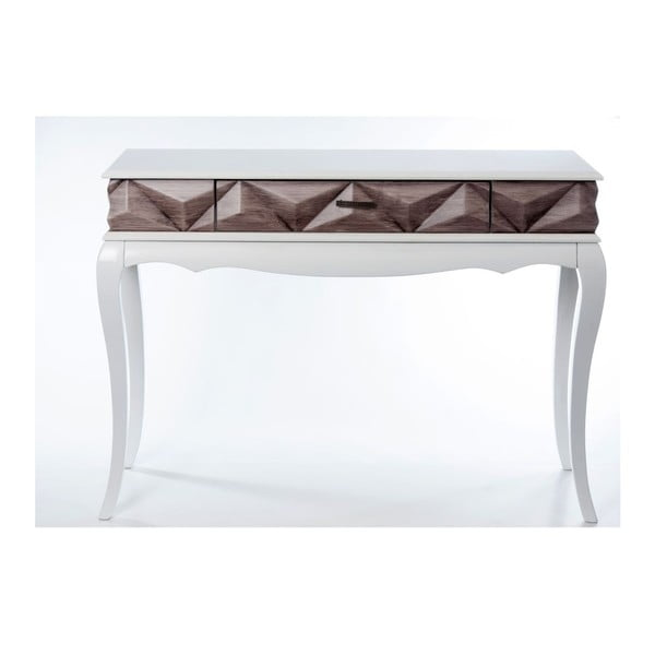 Konzolový stolek Pyramid Brown, 113x41x81 cm