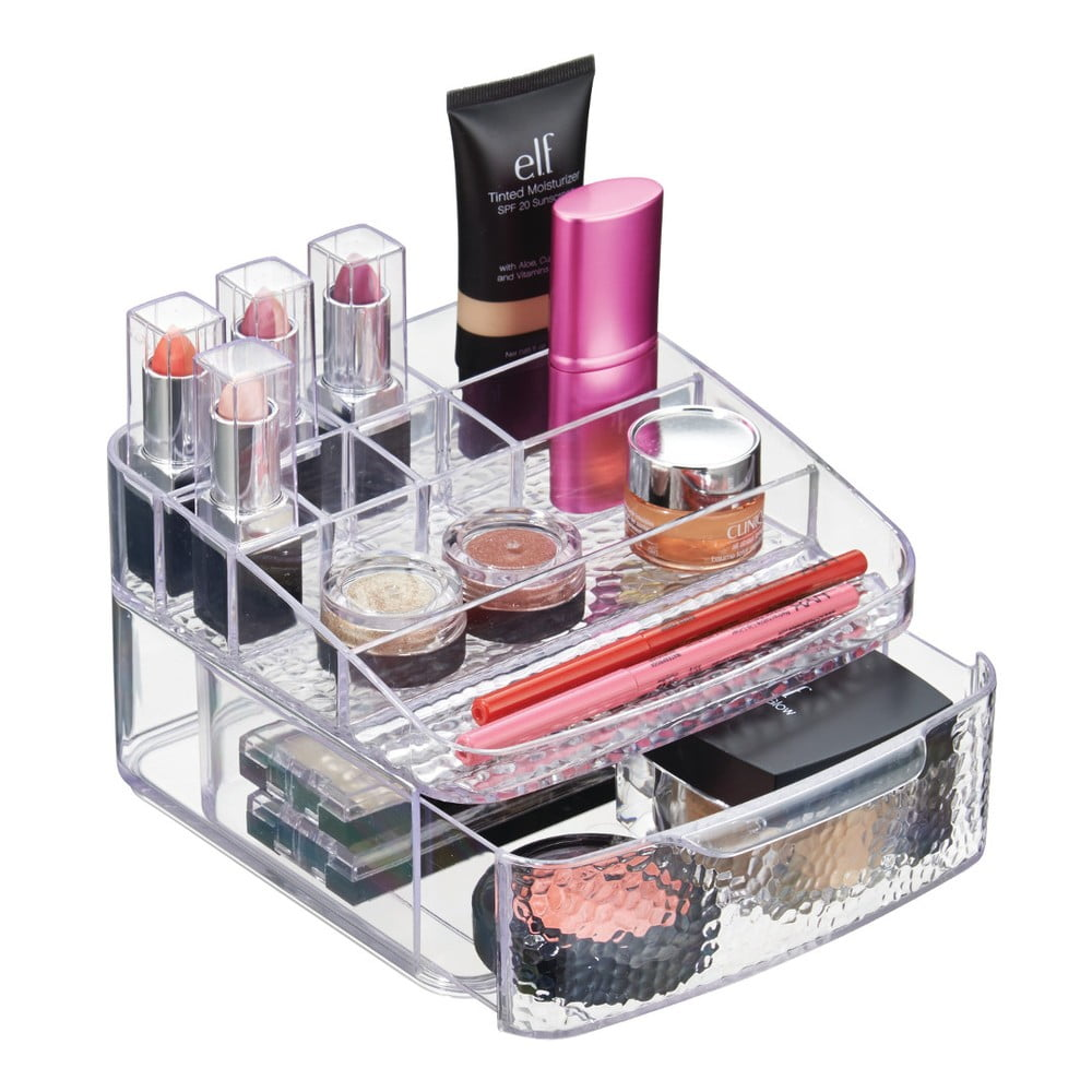 Organizator interdesign drawer rain lungime 17 cm alb for Inter designs