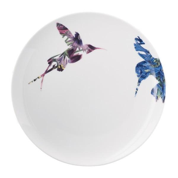Porcelánový talíř Flutter, 21 cm