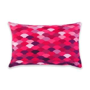 Polštář Waves Purple, 60x40 cm