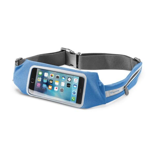 Sportovní pouzdro CellularLine WAISTBAND, modrá