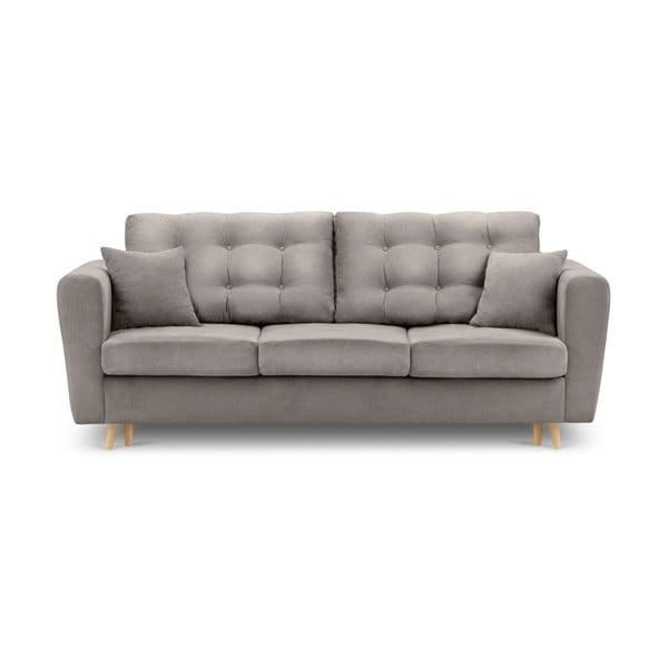 Highlife bézs kinyitható kanapé tárolóval - Kooko Home