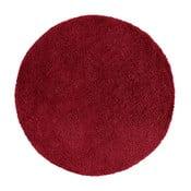 Vínový kulatý koberec Universal Norge, ⌀ 80 cm