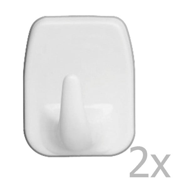 Set 2 cârlige de perete Wenko Universal Hooks White