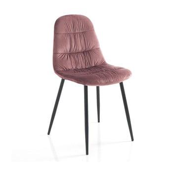 Set 4 scaune Tomasucci Fluffy, roz de la Tomasucci