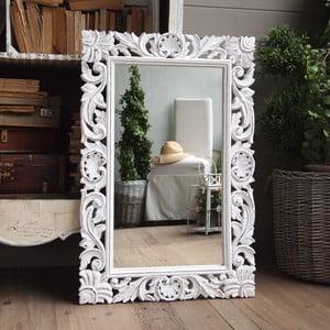 Zrcadlo Orchidea Antique White, 60x90 cm