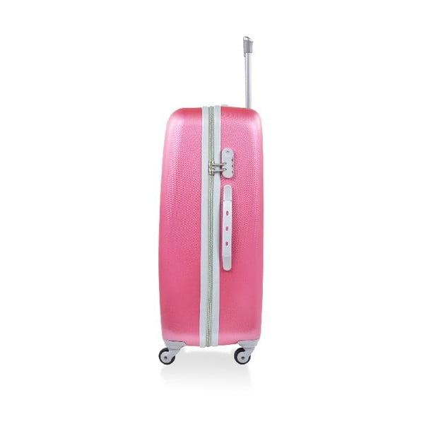 Set 3 cestovních kufrů Hero Pink