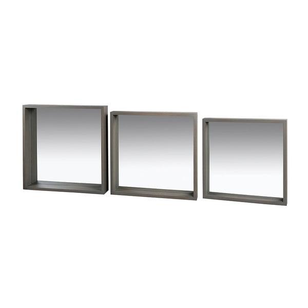 Sada 3 zrcadel ze dřeva paulownia Santiago Pons Combo