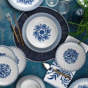24dílná sada porcelánového nádobí Kutahya Farria